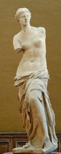 Afrodita o Venus diosa greco-romana del amor carnal, la lujuria y la belleza