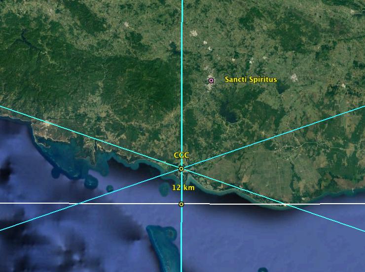 Detalle del Centro Geográfico de Cuba