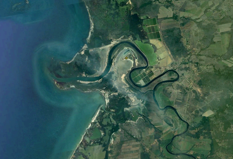 Desembocadura del río Zaza