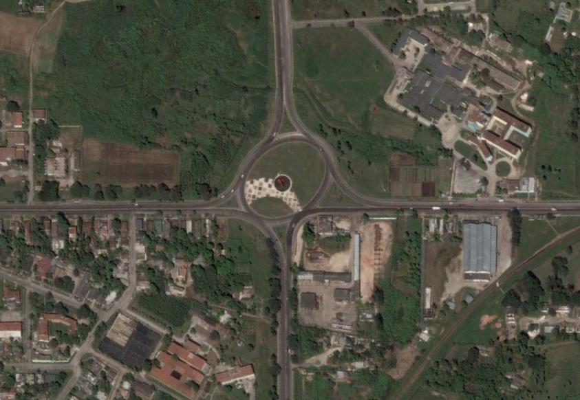 Vista Aérea del monumento a Camilo Cienfuegos en Camaguey